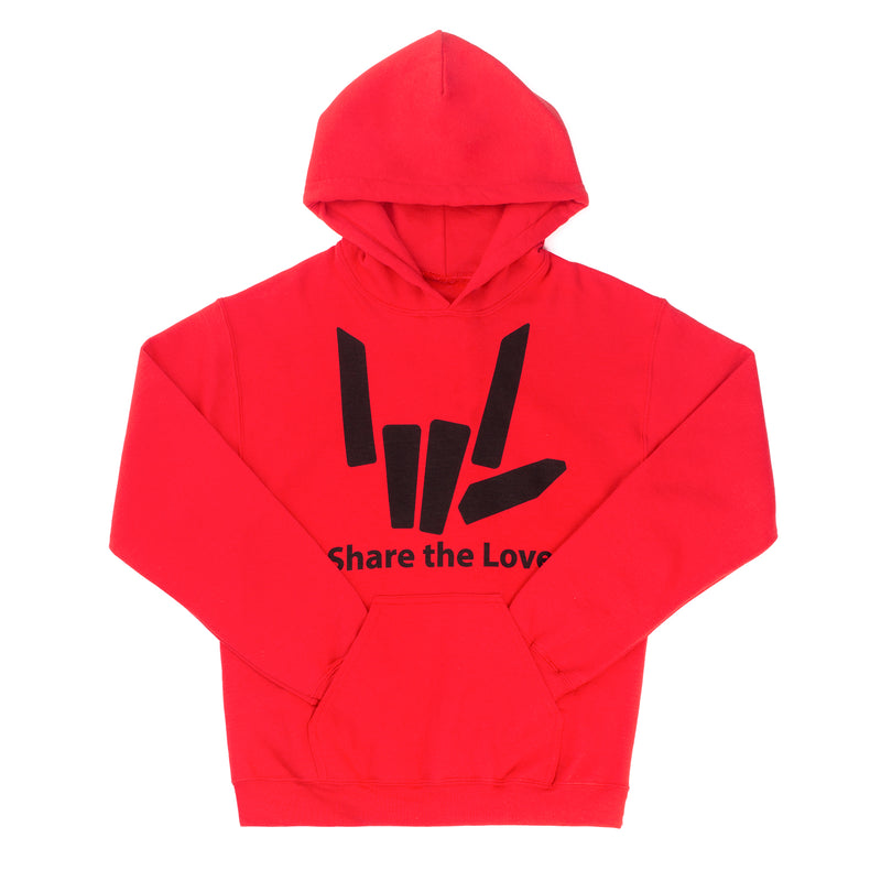 Signature Youth Hoodie - Red