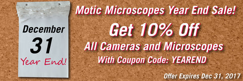 Year End Sale Microscopes