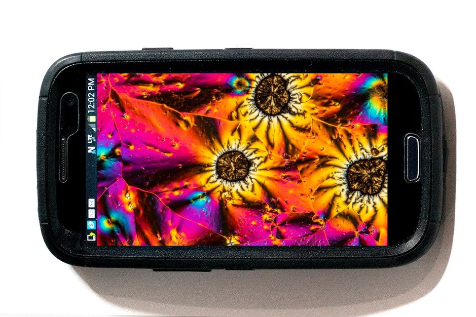 cell phone camera for photo micrography