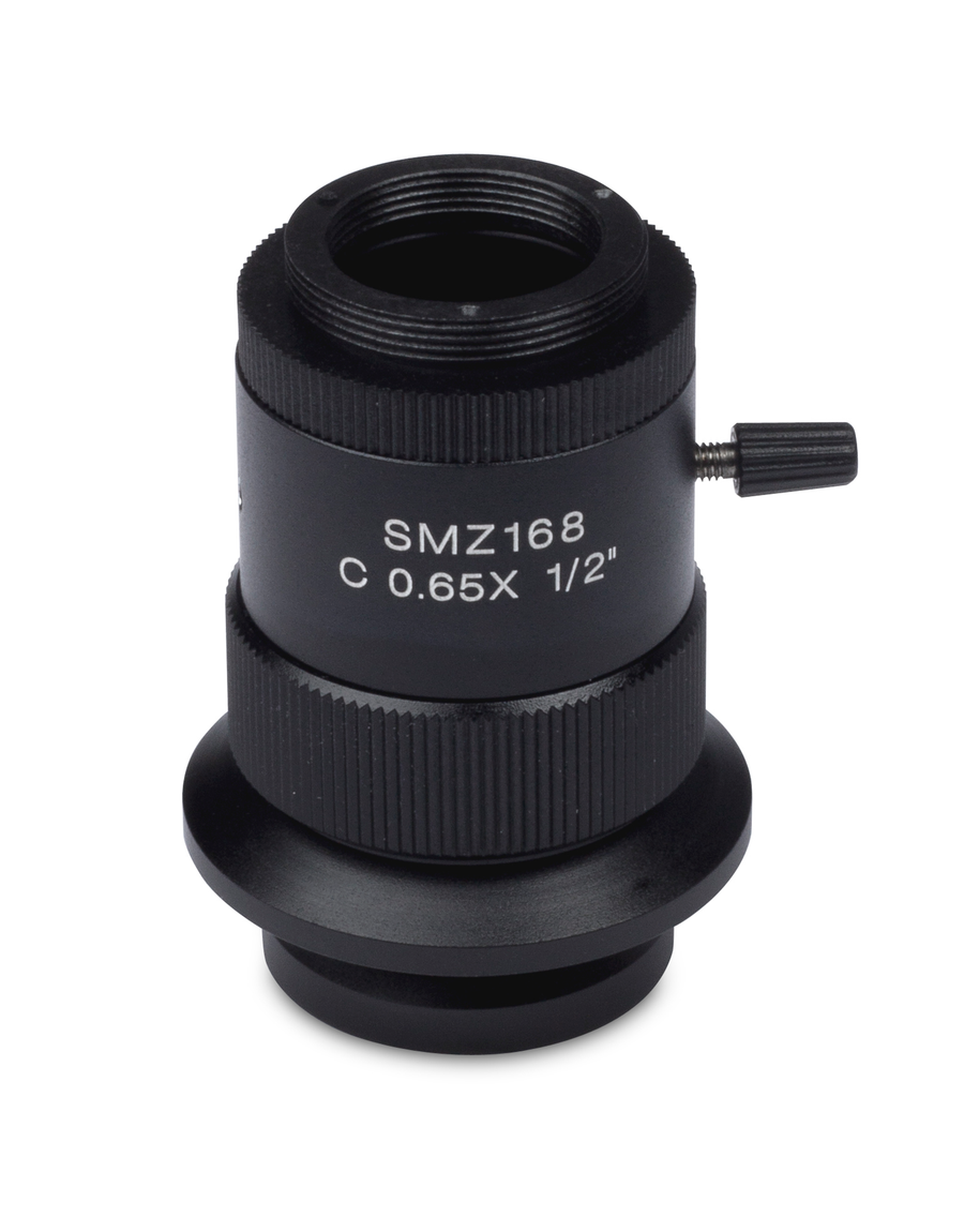 SMZ-168 C-mount - 0.65X C-mount camera adapter for 1/2