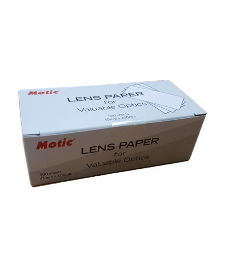 Microscope Lens Paper (1101001300042) - Motic Microscopes
