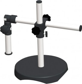 SMZ-161 Stand - Universal Stand Round Base 25mm pole - (1101010100042) - Motic Microscopes
