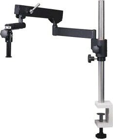 SMZ-168/171 Stand - Articulating Boom (Table Clamp) stand, 32mm pole (600mm length) - (1101010100301) - Motic Microscopes