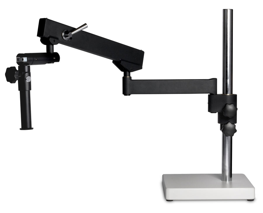 SMZ-171/K Stand - Articulating Arm Boom stand, 32mm pole (600mm length) - (1101010100331) - Motic Microscopes