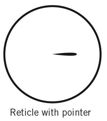 Reticle for BA eyepieces - Pointer (25mm diameter) (1101001401871) - Motic Microscopes