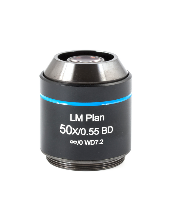 AE2000MET Objective - LM Plan BD 50X N.A. 0.55 / W.D. 7.2  - (1101001704271)