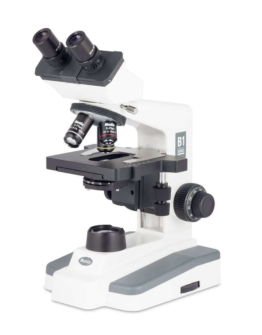 B1-252LED (Binocular LED University Education Microscope) - Motic Microscopes