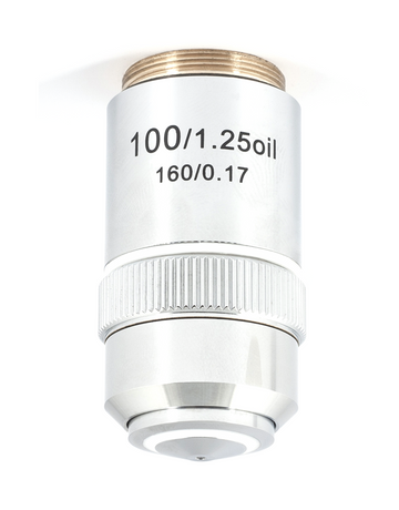 B1 Series Objective - Achromatic A 100X / 1.25 / S - Oil - (1101001700912) - Motic Microscopes