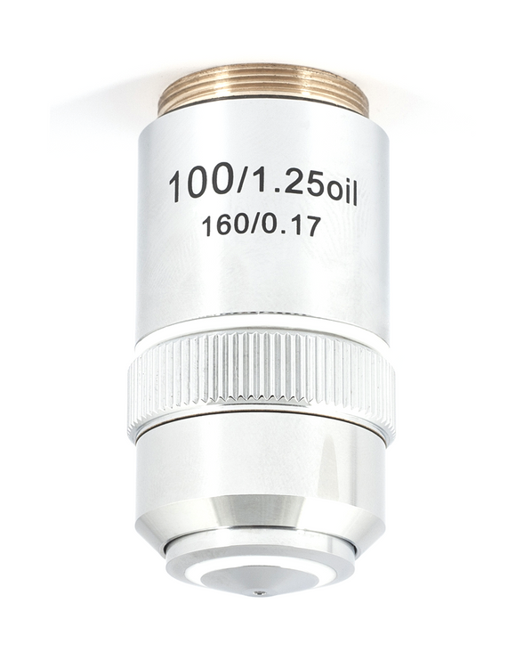 B1 Series Objective - Achromatic A 100X / 1.25 / S - Oil - (1101001700912)