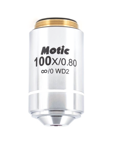 BA310MET Objective - LM  Plan 100X / 0.8 (WD=2mm) - (1101001704512)