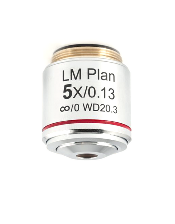 BA310MET LM  Plan objective 5X / 0.13 (WD=20.3mm) (upright) (1101001704392)