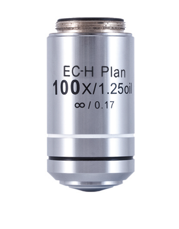 BA410E Objective - CCIS EC-H PL 100X/ 1.25/ S-Oil - (1101001702901) - Motic Microscopes