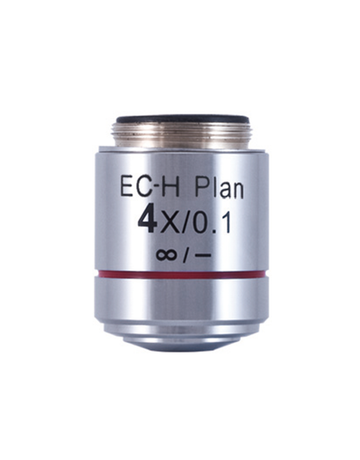 BA410E Objective - CCIS EC-H PL 4X/ 0.1 - (1101001702871) - Motic Microscopes