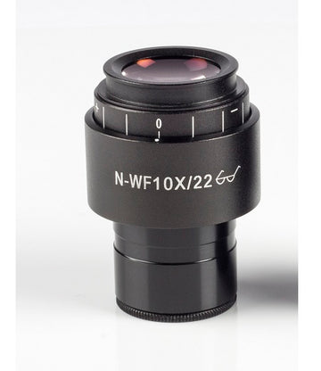 BA310MET/BA410E/AE31E Eyepiece -N-WF10X/ 22mm focusable with diopter adjustment (1101001402231) - Motic Microscopes