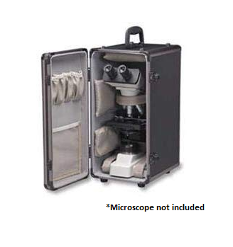 B Series - Aluminum Storage Case - (1101001200091) - Motic Microscopes
