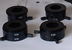 Set of four Eyepiece Couplers 28, 30, 34, 35mm