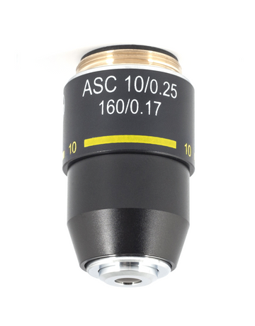 B Series Objective - Achromatic super contrast ASC 10X / 0.25 - (1101001701542)