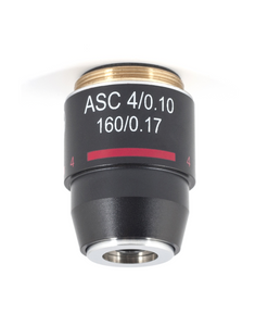 B Series Objective - Achromatic super contrast ASC 4X / 0.10 - (1101001701582)
