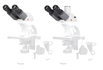 BA410E Head - BA410 Trino head (Light split 100:0, 20:80) (without eyepiece) - (1101001902771) - Motic Microscopes