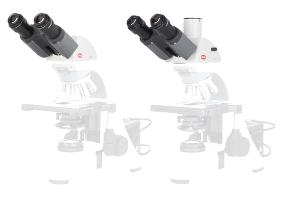 BA410E Head - BA410 Trino head (3 step Light split: 100:0, 0:100, 20/80) (without eyepiece) - (1101001902801)