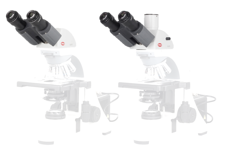 BA410E Head - BA410 Trino head (3 step Light split: 100:0, 0:100, 20/80) (without eyepiece) - (1101001902801) - Motic Microscopes