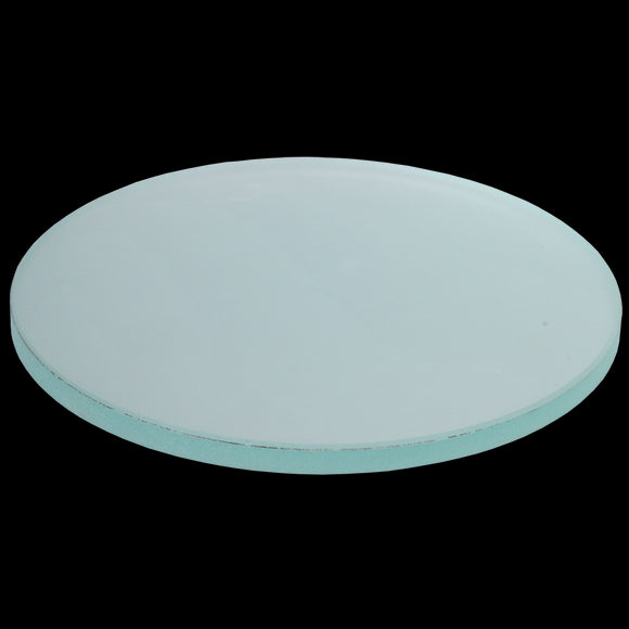 Frosted glass stage plate for Stereomicroscope (80mm)