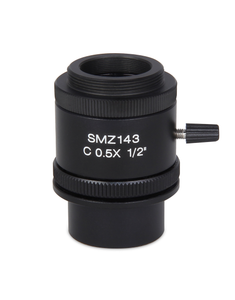 SMZ-143 C-mount - 0.5X C-mount camera adapter for Moticams - (1101002300271)