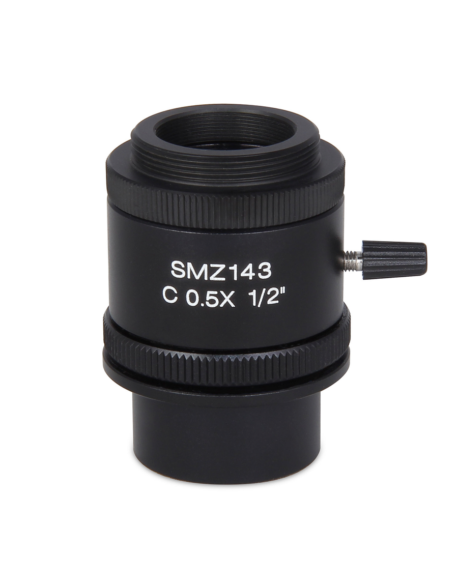 SMZ-143 C-mount - 0.5X C-mount camera adapter for Moticams - (1101002300271) - Motic Microscopes