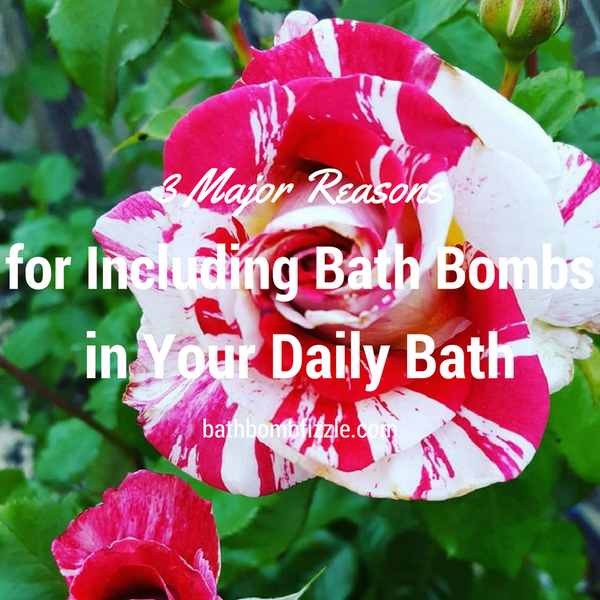 3 Major Reasons for Including Bath Bombs in Your Daily Bath