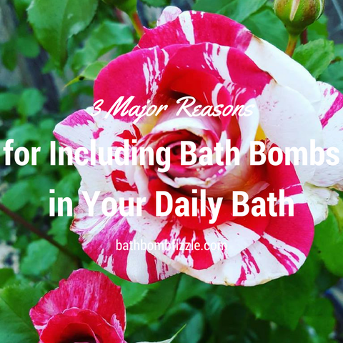 Rose picture for bath bombs