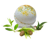 Cedarwood Tea Tree Eucalyptus Essential Oil Bath Bomb 6 oz - bathbombfizzle