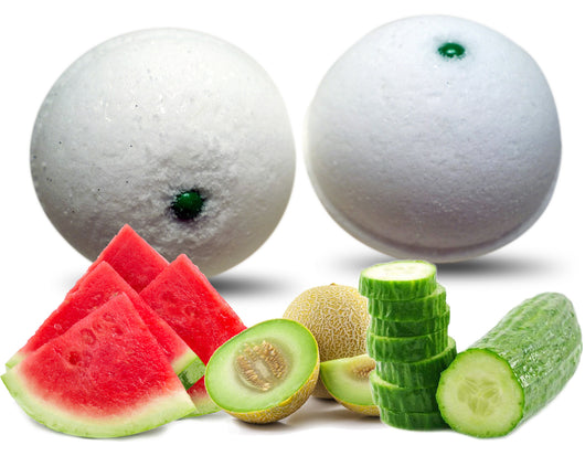 Cucumber Melon Bath Bomb 6 oz - bathbombfizzle
