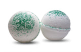 Eucalyptus Peppermint Essential Oil Bath Bomb 6 oz - bathbombfizzle