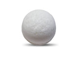 White Gardenia Flowers Bath Bomb 6 oz - bathbombfizzle
