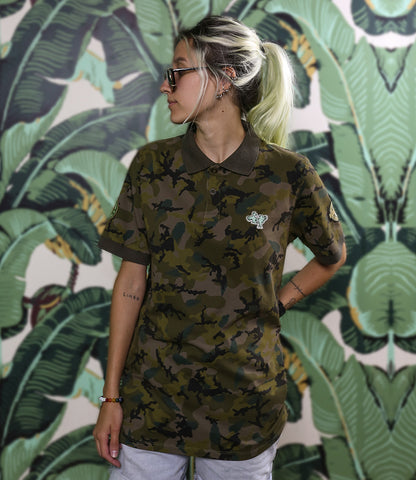 M Squad Cammo Polo (Woman)
