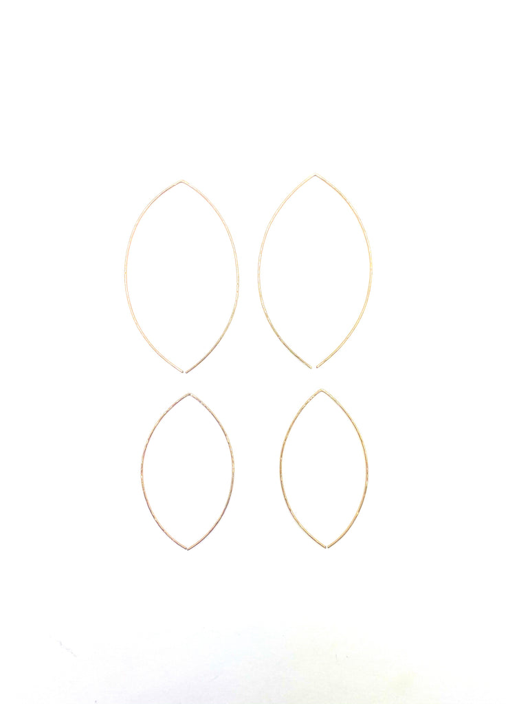 ZINA HOOP EARRINGS - Jennifer Jones Collection