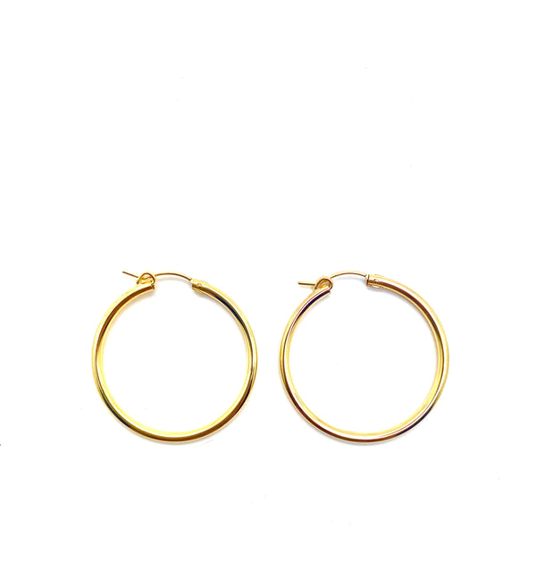 EVERYDAY HOOPS 5 SIZES - Jennifer Jones Collection