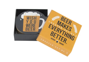 Annabel Trends Beer Coasters