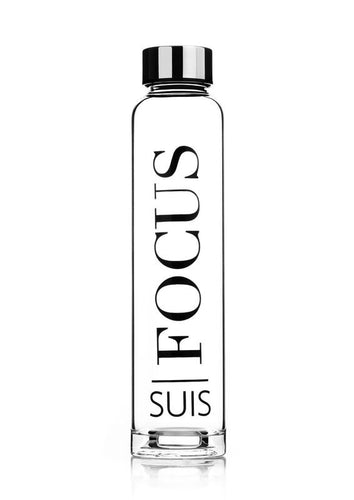 Focus Glass Water Bottle