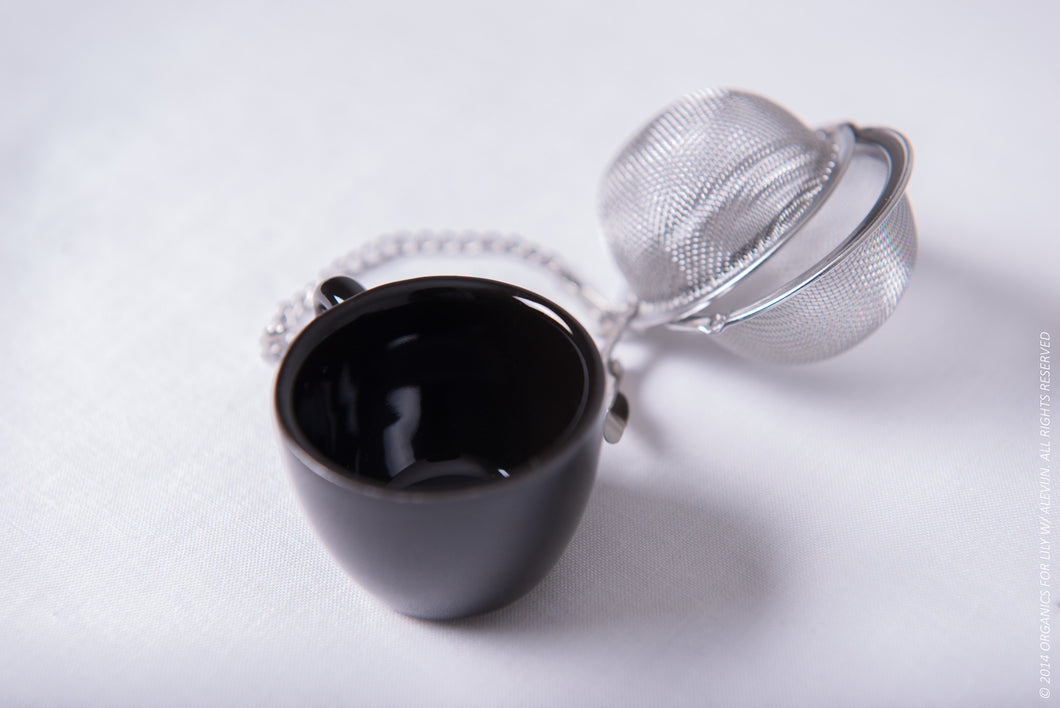 Organics for Lily Stainless Steel Teacup Infuser