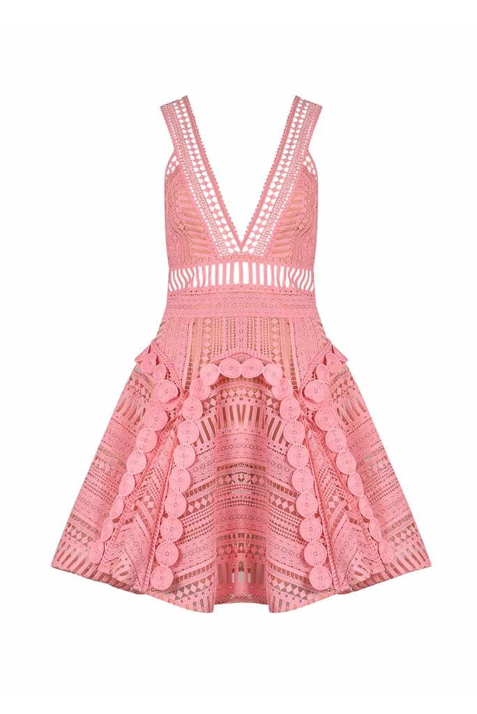 Thurley Comet Dress Pink