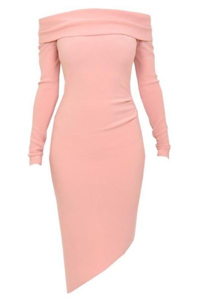 Bec and Bridge Montana Long Sleeve Dress in Candy