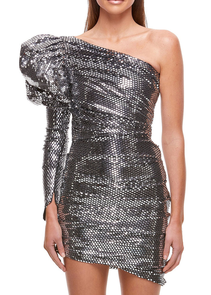 Eliyah The Label Monarch Dress in Silver