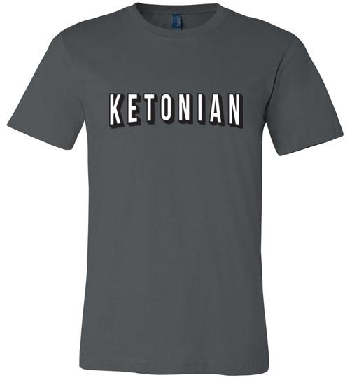 Keto T-Shirt Ketonian Netflix Style, Canvas Unsiex Shirt - Kari Yearous Photography WinonaGifts KetoGifts LoveDecorah