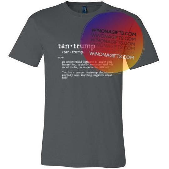 Tantrump T-Shirt Canvas Unisex T, Light on Dark - Kari Yearous Photography KetoLaughs