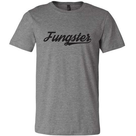 Fasting Fungster Shirt, Black on Light, Canvas Unisex