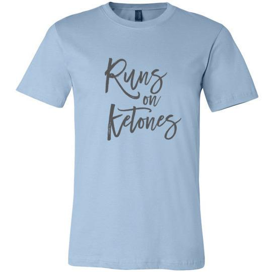 Keto T-Shirt Runs On Ketones - Kari Yearous Photography WinonaGifts KetoGifts LoveDecorah