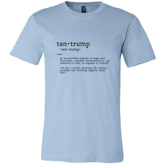Funny Trump T-Shirt Tantrump 140 Characters Version - Kari Yearous Photography KetoLaughs