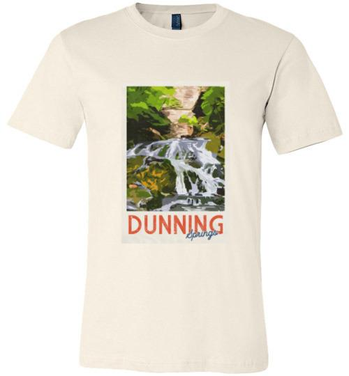 Decorah Iowa T-Shirt VIntage Dunning Springs, Canvas Unisex T-Shirt - Kari Yearous Photography WinonaGifts KetoGifts LoveDecorah