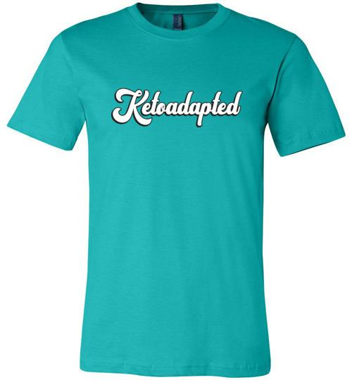 Keto T-Shirt, Ketoadapted Shirt, Canvas Unisex T-Shirt - Kari Yearous Photography WinonaGifts KetoGifts LoveDecorah